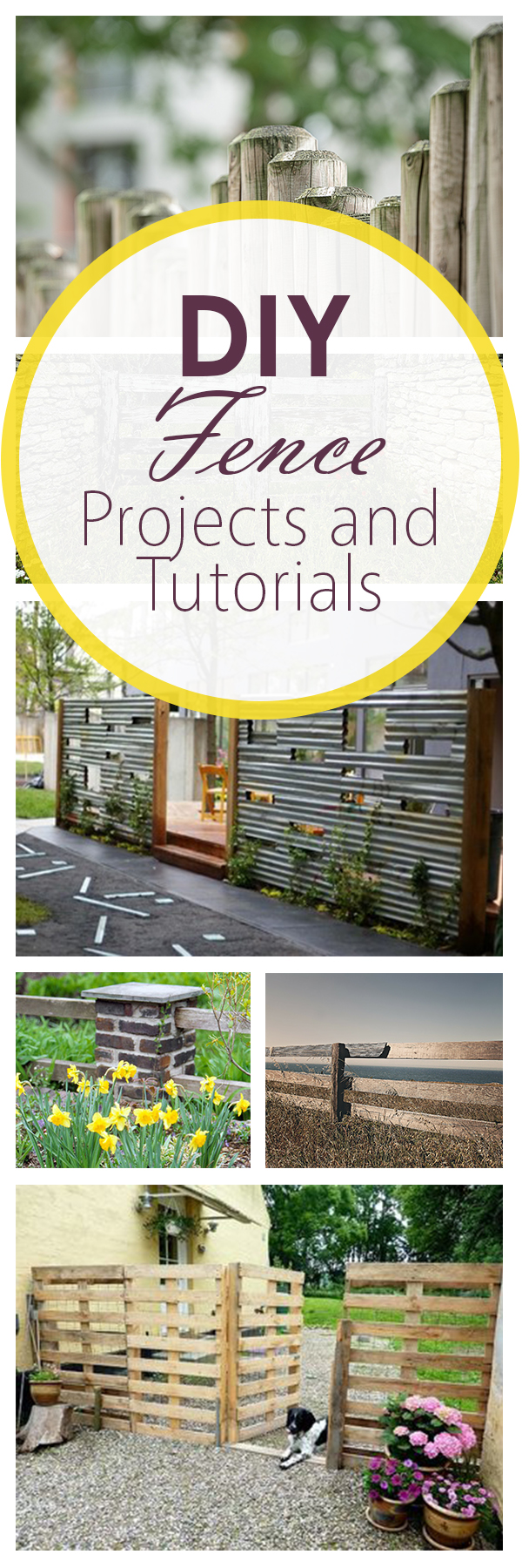 DIY Fence Projects and Tutorials (1)