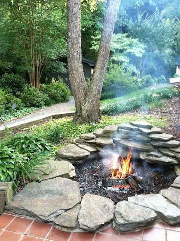 12 DIY Firepits that are Perfect For Your Yard