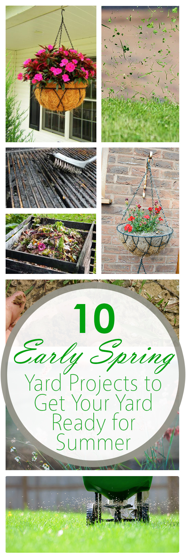 10 Early Spring Yard Projects to Get Your Yard Ready for Summer