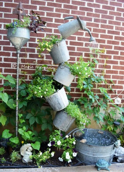 15 Super Easy DIY Water Features Anyone Can Make