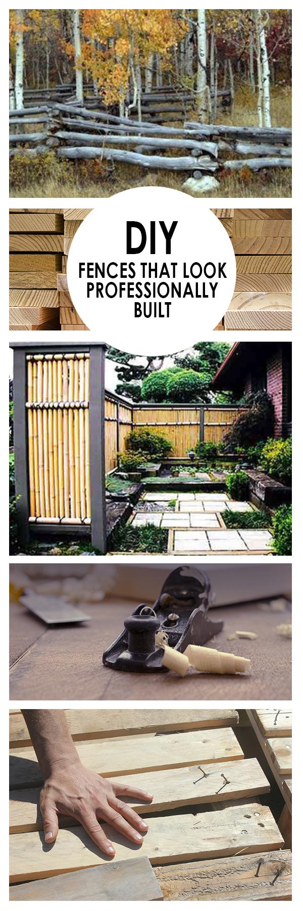 DIY Fences That Look Professionally Built (1)