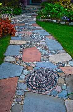 Rock Pathway Ideas