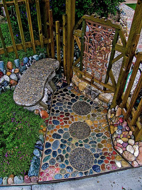 Rock Pathways 12 backyard rock pathways to die for - page 6 of 13 - bees and roses