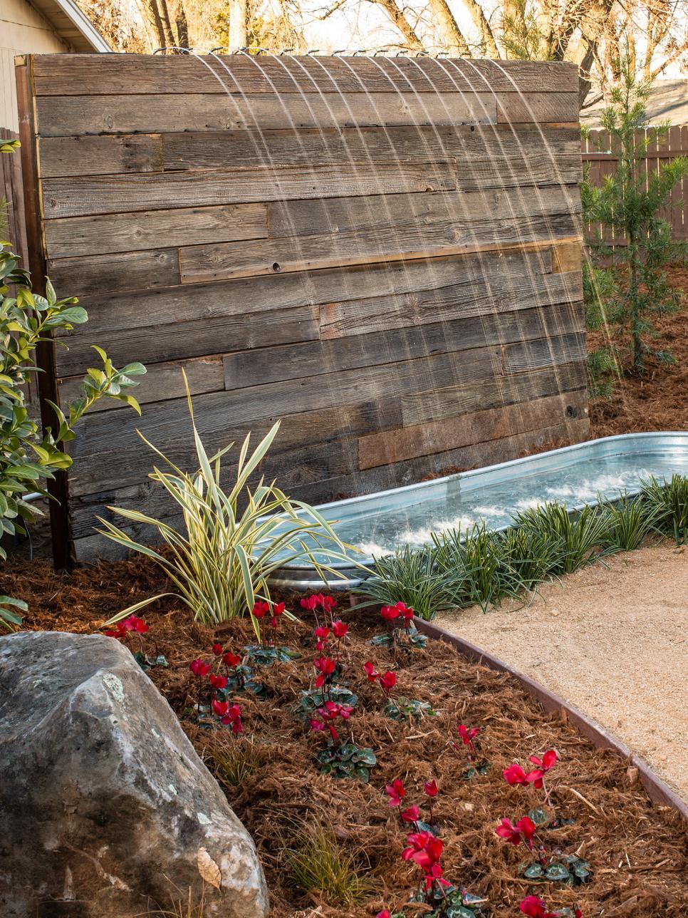 DIY Waterfalls, DIY Waterfall Projects, DIY Waterfall, DIY Water Feature, Garden Ideas, Outdoor DIY