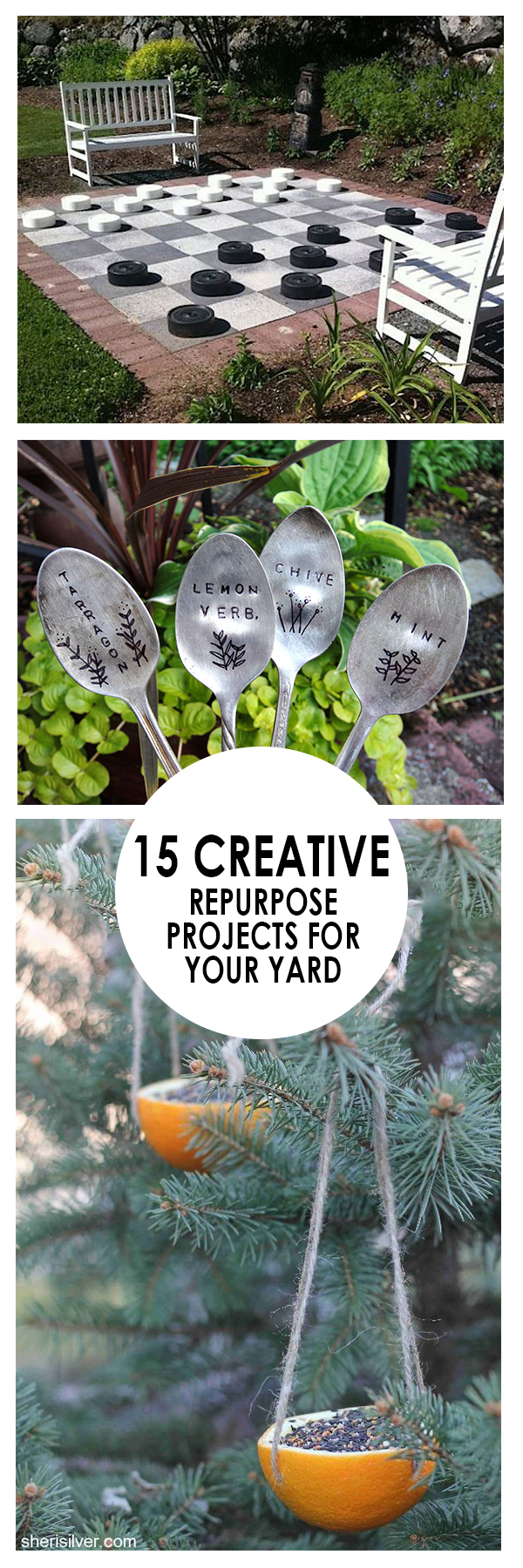 Yard repurpose projects, repurpose DIYs, gardening, yard projects, DIY yard projects, popular pin, landscape ideas.