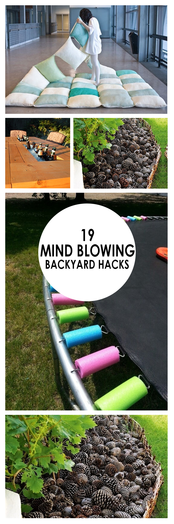 Backyard Hacks, Backyard Fun, Outdoor DIY , Backyard Ideas, Backyard Ideas on A Budget