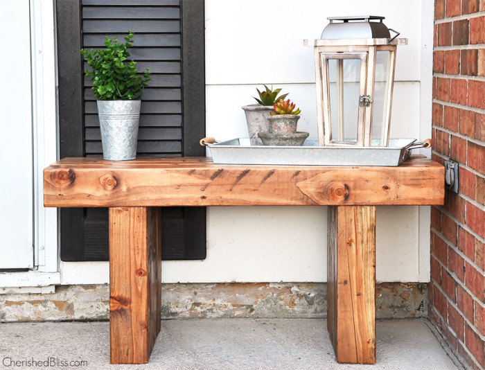 25 Magazine-Worthy DIY Benches for Your Backyard
