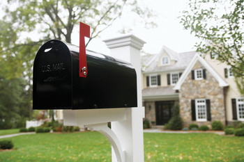 675-02338231 Model Release: No Property Release: Yes Mailbox, Chatham, New Jersey, USA