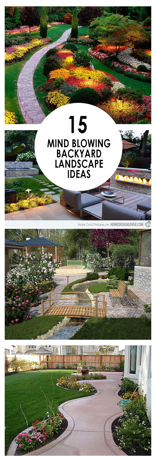 15 mind blowing backyard landscape ideas bees and roses
