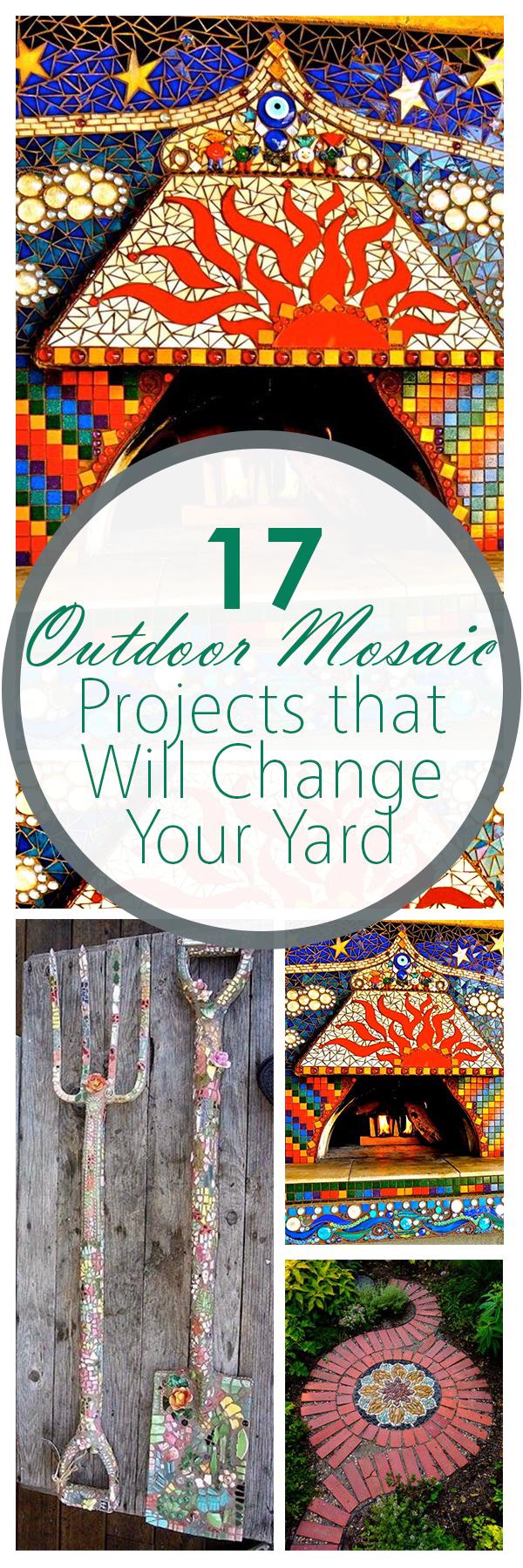 Yard decor, easy yard decor, mosaic, garden mosaics, popular pin, gardening, gardening hacks, gardening tips, easy gardening, DIY gardening, DIY landscaping, DIY yard design.