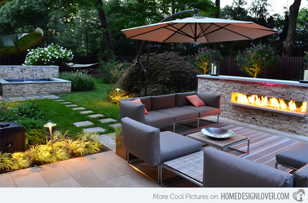 15 mind-blowing backyard landscape ideas - page 10 of 17 - bees ... - Outdoor Patio Landscaping Ideas