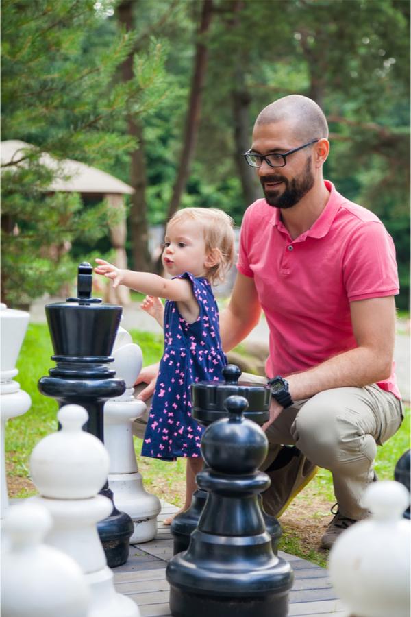 Backyard Giant Chess
