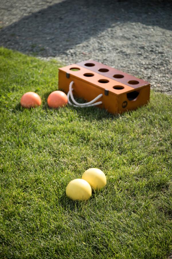 DIY Backyard Bocce Ball