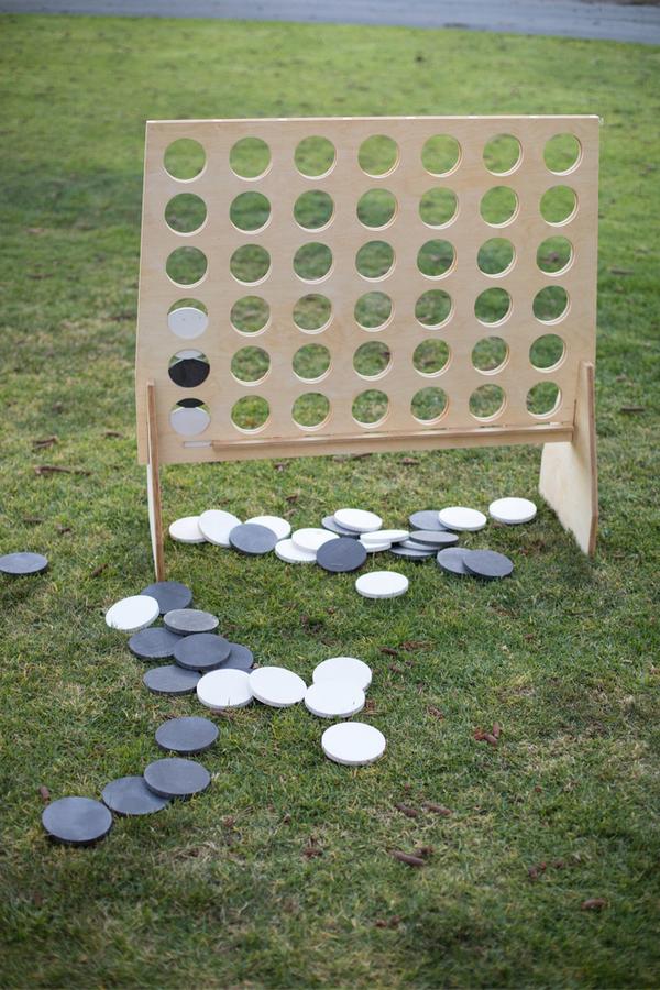Family-friendly backyard games