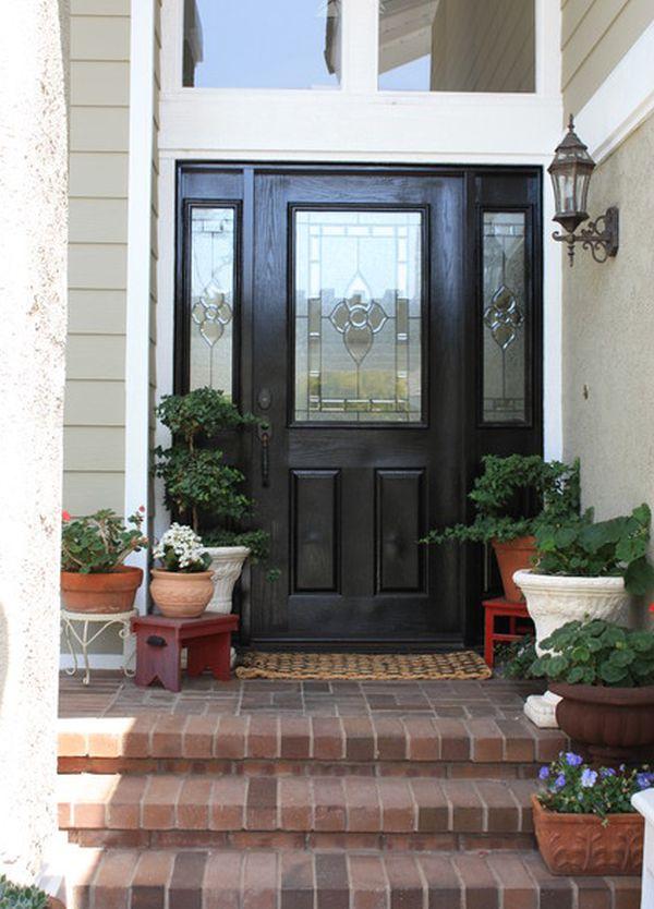 front porch flower pot ideas