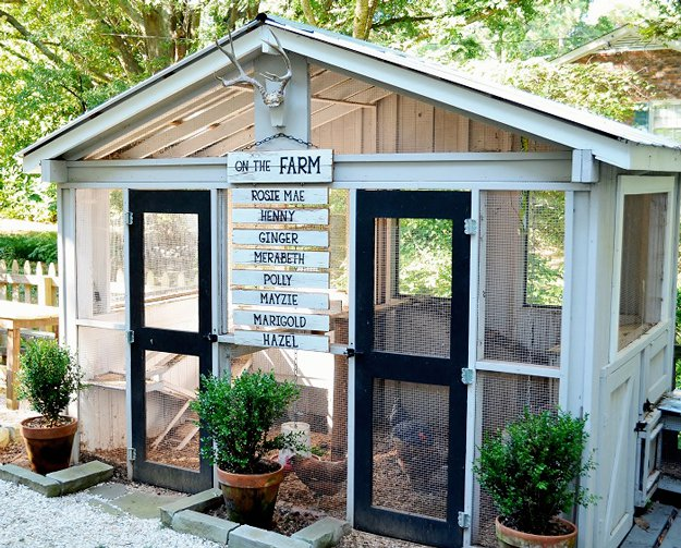 DIY Chicken coop, chicken coop ideas, DIY chicken coop, popular pin, outdoor landscaping, outdoor living, outdoor living hacks, outdoor DIYs.