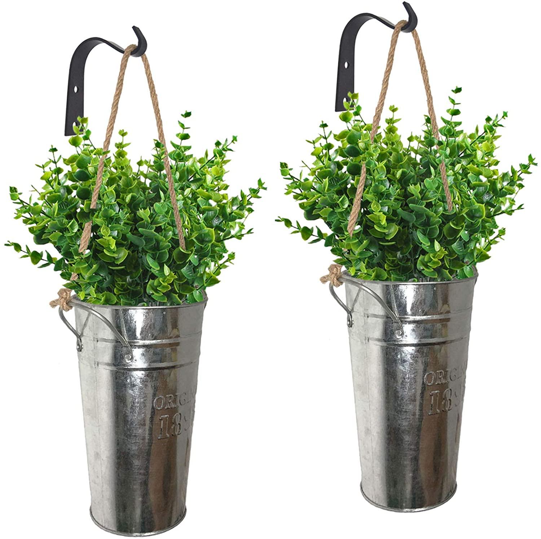 How to build an indoor herb garden with galvanized metal planters