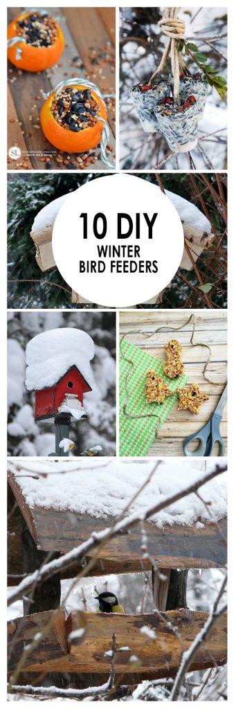 Winter Bird Feeders, DIY Bird Feeders, Bird Feeders, Bird Feeders DIY, Bird Feeders Homemade, Outdoor DIY, Garden Ideas