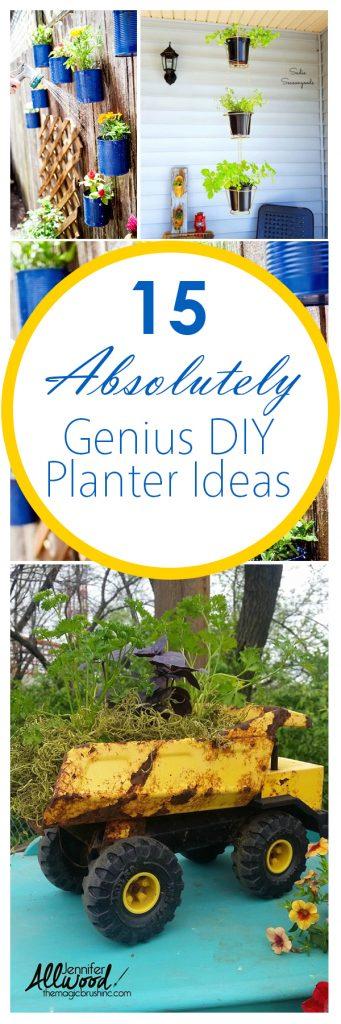 Garden Planter, DIY Garden Planter Ideas, DIY Garden Planter, Gardening, Gardening Ideas, Outdoor DIY, Garden Planter Projects