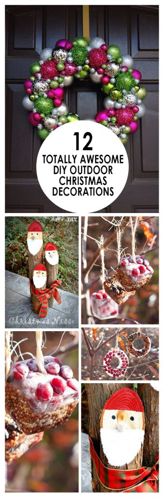 Outdoor Christmas Decorations, Christmas Decorations, Outdoor Holiday Decorations, Christmas Porch Decorations, Popular Pin, Decoration Ideas, Holiday Porch Ideas
