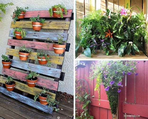 Pallet Garden Projects Creative Diy Planter Ideas