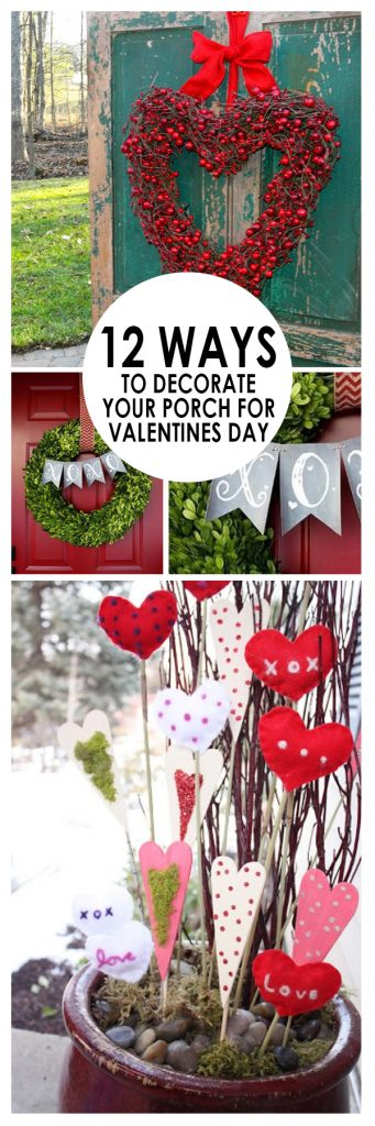 Valentines Day Porch Decor, Valentines Day Porch Decor Ideas, Holiday Porch Decor, Easy Porch Decor, How to Decorate Your Porch, Holiday Porch Decor Ideas, Easy DIY Porch Decor, Popular Pin, Valentines, Valentines Day, Valentines Day Decor
