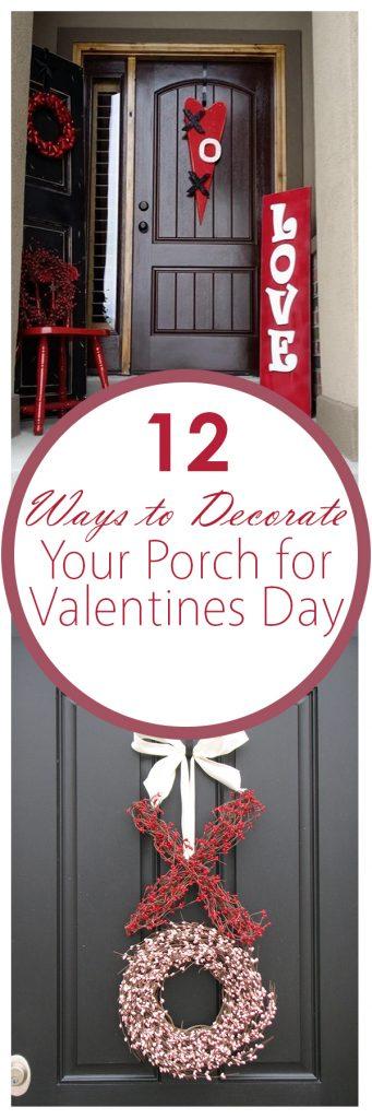 Valentines Day Porch Decor, Valentines Day Porch Decor Ideas, Holiday Porch Decor, Easy Porch Decor, How to Decorate Your Porch, Holiday Porch Decor Ideas, Easy DIY Porch Decor, Popular Pin, Valentines, Valentines Day, Valentines Day Decor