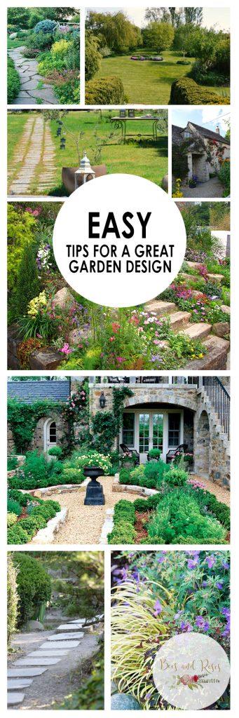 Easy Tips for A Great Garden Design
