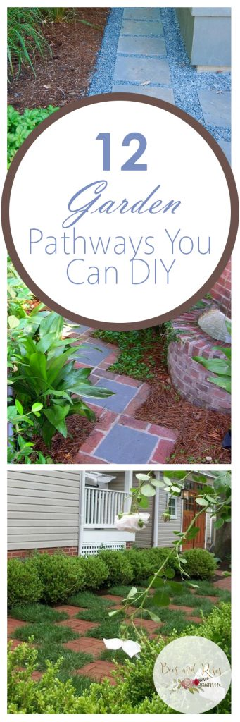 DIY Garden, Garden Pathways, DIY Garden, Yard and Landscaping Tips, Landscaping Tips and Tricks, DIY Landscaping, Gardening, Gardening Hacks, Outdoor Living, Outdoor Living Tips and Tricks, Popular Pin