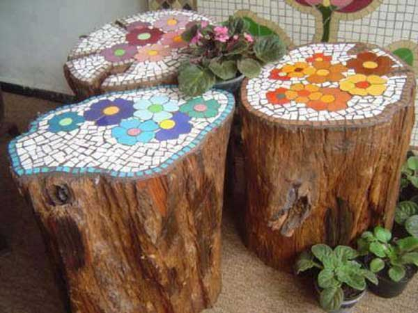 Mosaic Projects, Mosaic Garden Projects, Garden Mosaic Ideas, DIY ...