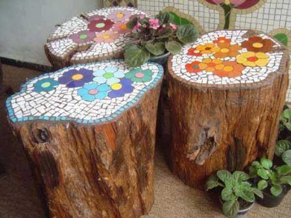 Mosaic Projects, Mosaic Garden Projects, Garden Mosaic Ideas, DIY Mosaic, Mosaic Patterns, Garden Ideas, Gardening Ideas, Gardening Tips and Tricks, Gardening