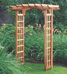 Build Your Own Arbor, DIY Arbor Projects, DIY Home, DIY Outdoor, DIY outdoor Projects, Gardening, Landscaping Ideas, DIY Landscaping Tips and Tricks, Popular Pin