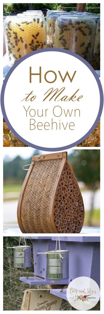 How to Make Your Own Beehive| DIY Beehive, How to Make Your Own Beehive, Garden, Garden Projects, Gardening Projects, Easy to Make Beehives, Popular Pin #Gardening #DIYBeehive #OutdoorDIYs