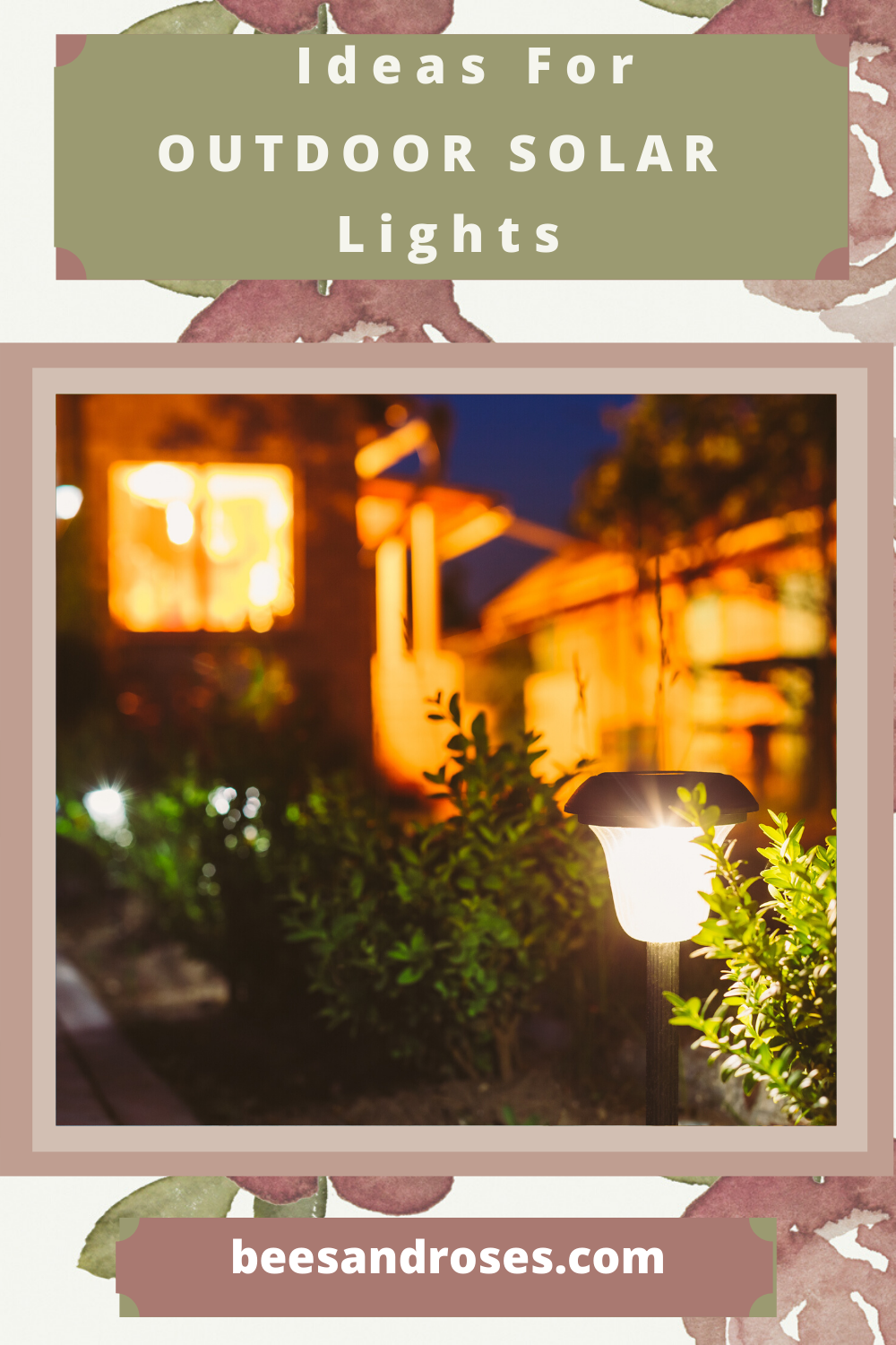 The sun is pretty powerful and can help you save money while lighting up your yard. Ever thought of using outdoor solar lights? They are great for decks and patios, and make walkways safe at night. Read the post to learn more about them and how you can use them in your yard. #solarlights #outdoorlivingideas #landscapideas