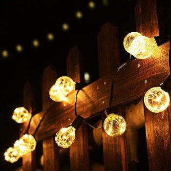 Globe Bulbs | Globe Bulb Lighting | Backyard Lighting | Bulb Lighting For the Backyard | Yard Lighting | Globe Bulb Lighting Ideas