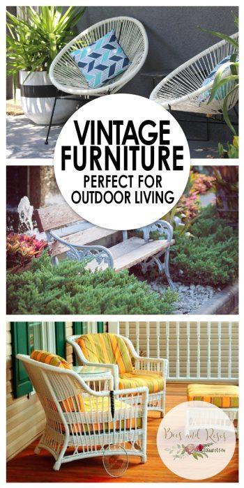 Vintage Furniture   Outdoor Living   Outdoor Living: Vintage Furniture   Vintage Furniture Inspiration   Outdoor Vintage Furniture   Vintage Furniture Ideas