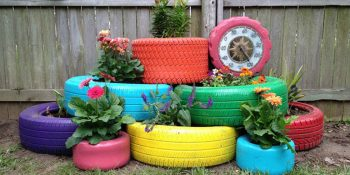 Salvaged Goods | Salvaged Goods for Your Garden | Salvaged Garden Decor | Garden Decor | Garden Design | Upcycled Garden Decorations