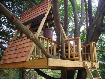 diy treehouse | treehouse | outdoor | outdoor fun | kids outdoor fun | kids treehouse | tree | diy | backyard | backyard treehouse | backyard fun