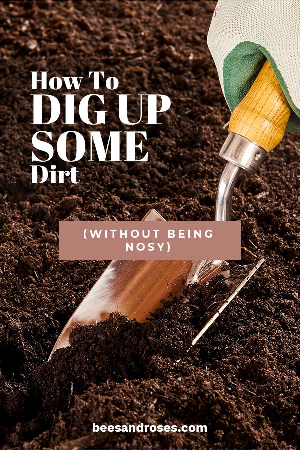 dirt | garden | garden soil | garden soil tips | dirt tips | gardening | gardening tips | soil