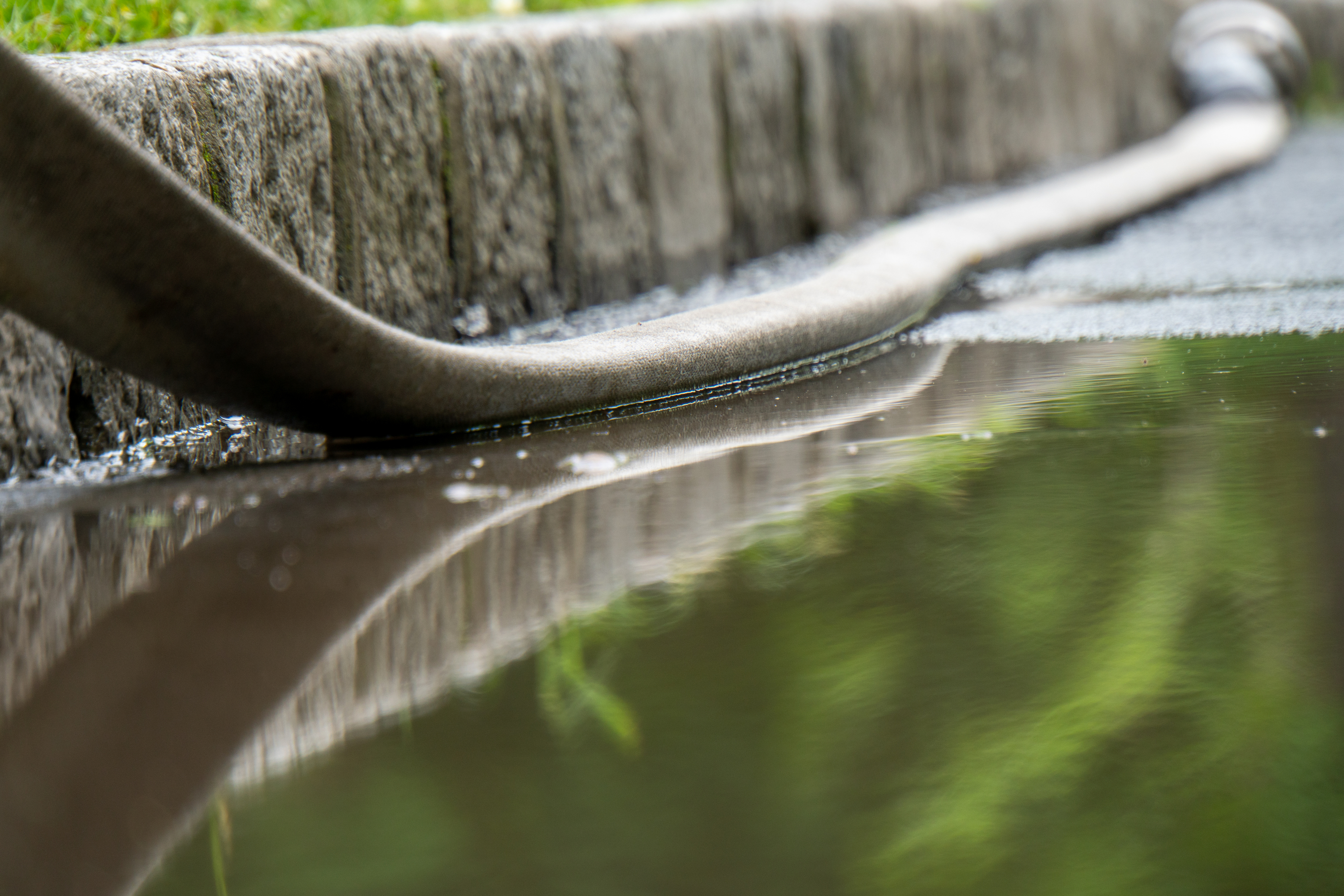Deep watering is an important part of taking care of your yard. Learn about deep watering and this soaking system to help your yard survive fall and winter.