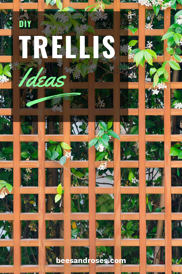 Gardening season is obviously my favorite and every year I try to add something to my garden that I made. So, I am going to share with you all about DIY trellis ideas. You will learn how easy they are to make and how you can use such things as wood, wire, lattice, metal and more to create your work of art. Once your done, all you have to do is figure out what you will grow on your trellis. Keep reading for these and more DIY outdoor project ideas. #DIYtrellisideas #trellis #ourdoorprojects