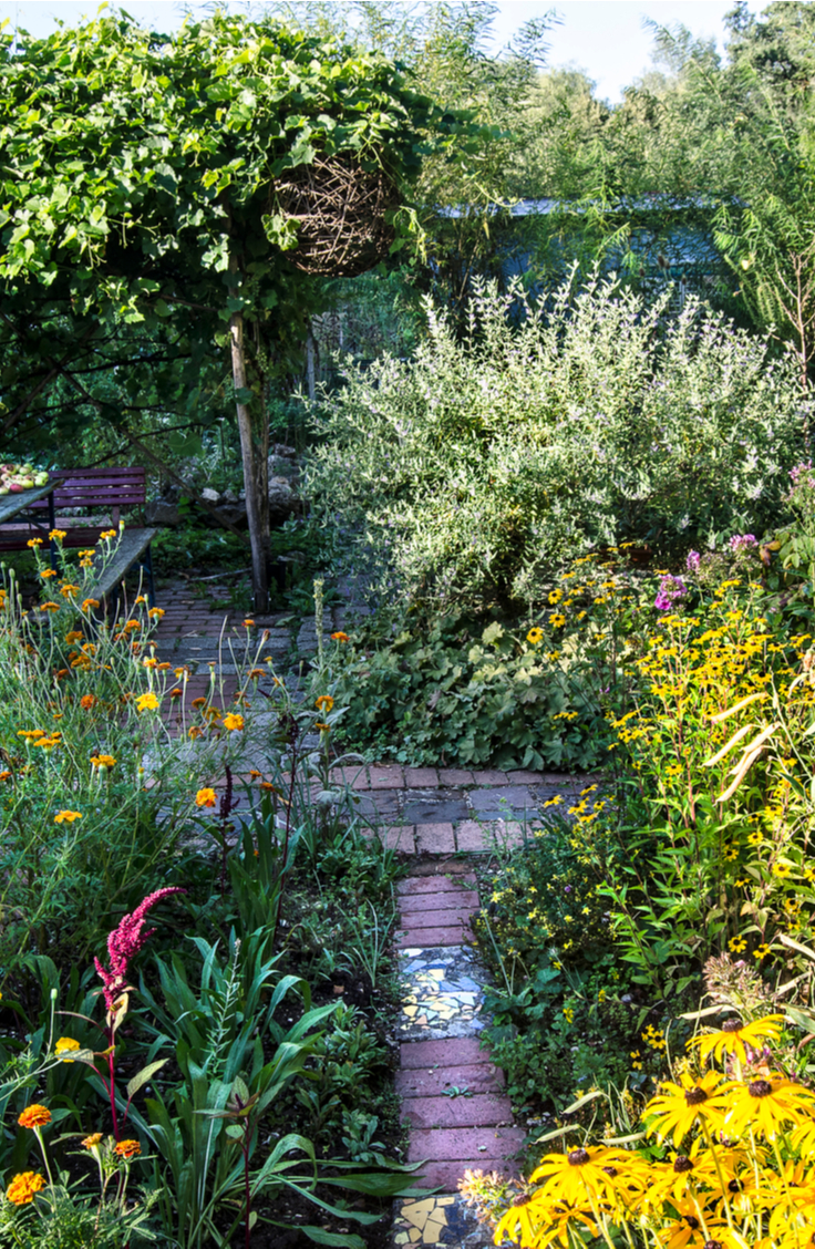 Creating your own permaculture design in your backyard is relatively easy, believe it or not. Creating urban permaculture gardens is a specific skill that is great to have because permaculture designs are created to support almost all of the needs of a family. Don't forget to include an area for compost!