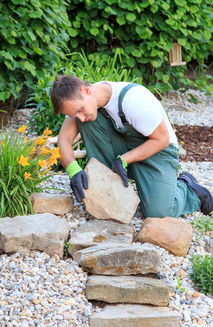 low maintenance front yard budget landscaping ideas ~ bees