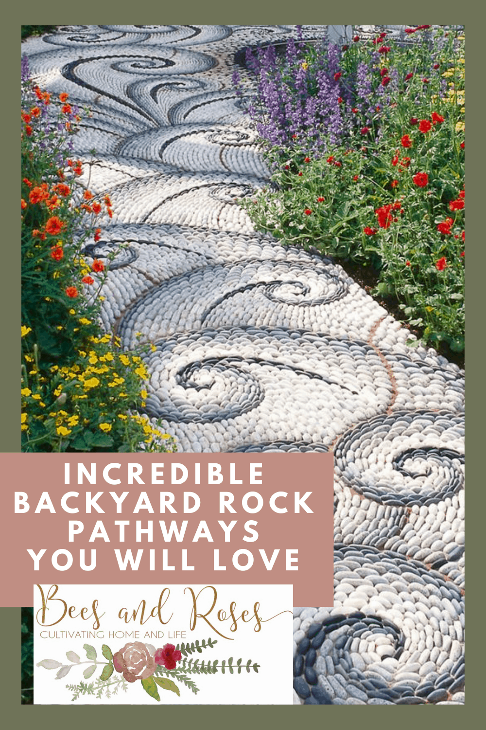 Beesandroses.com will help you master the art of gardening and landscaping! Find the best ideas to suit your home and property! Check out these amazing rock pathways that will perfectly compliment your home now.